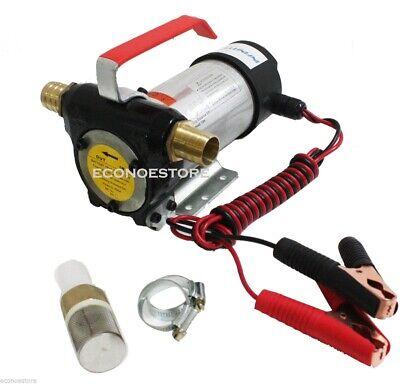12v Dc 10.5 Gpm Fuel Oil Transfer Pump Diesel Kerosene Biodiesel 12 Volt Pumps
