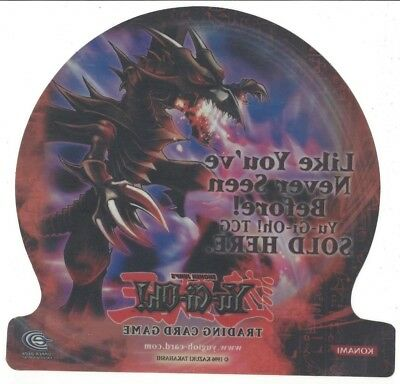 "YUGIHO PROMOTIONAL WINDOW DECAL  8""X9""   ** NEW **  1996  -- RARE --"