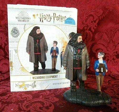 Department 56 Harry Potter Village Accessory Harry & Hagrid Wizarding Equipment