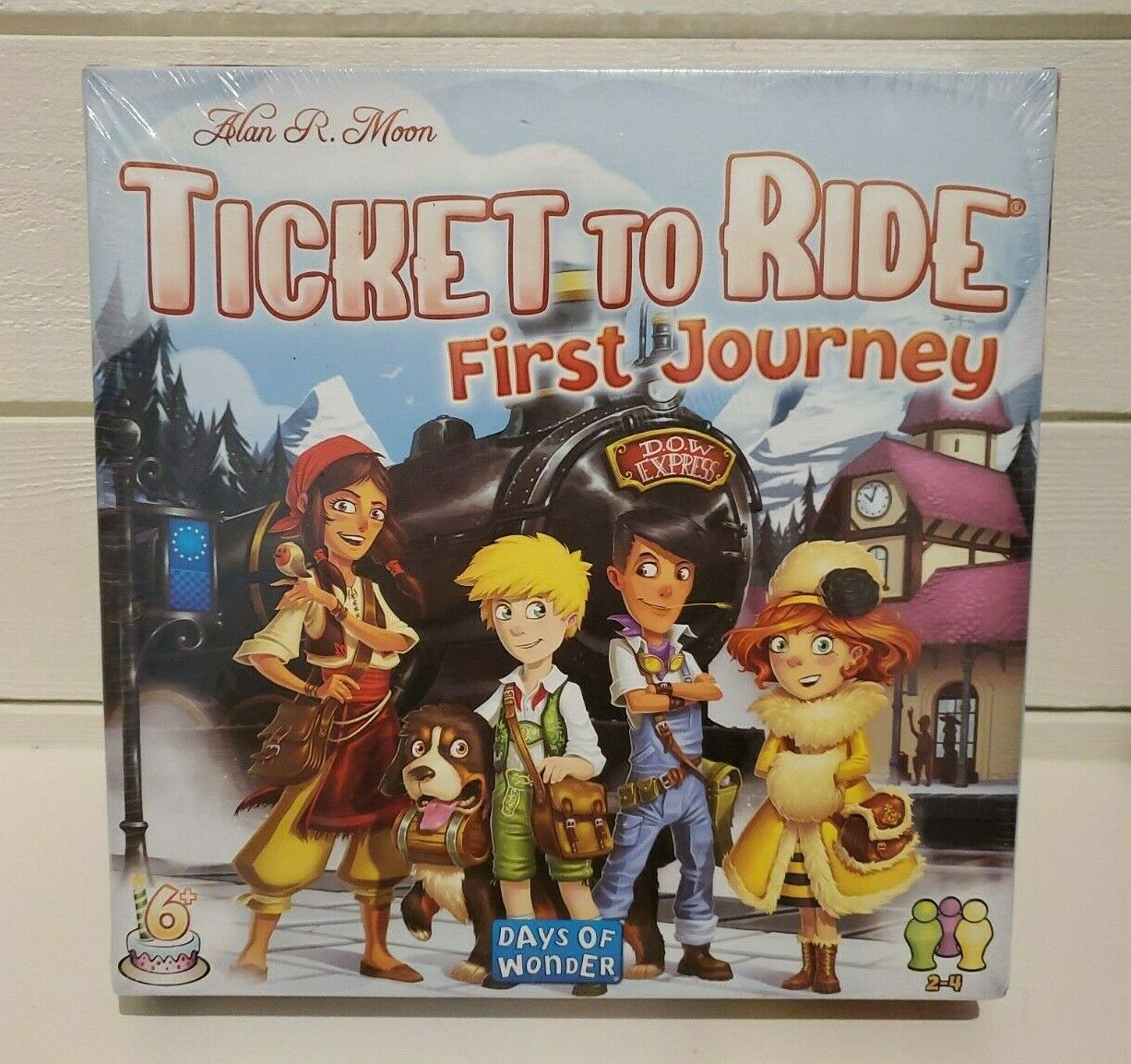 Ticket To Ride Rails & Sails Board Game - Brand New Sealed