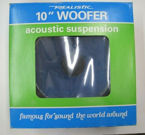 """REALISTIC 10""""  WOOFER #40-1331 NOS"""