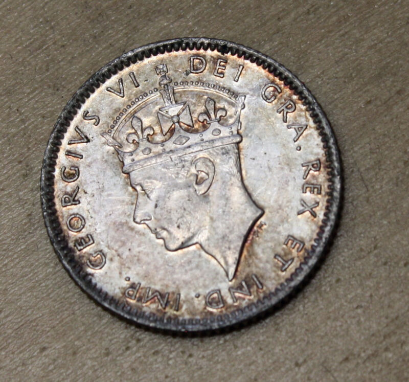 1945 Newfoundland 10 Cents