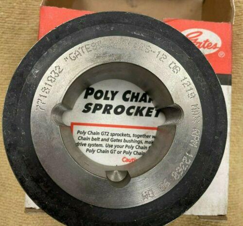 Gates PolyChain GT2 Sprocket - 8MX-32S-12 1210 - Taper Lock Bushing