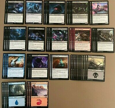 Magic: The Gathering - Nightmares from Hell Deck 2 w/ Secret Salvage/ Hunted +++