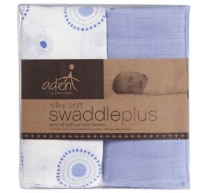 Aden and Anais Swaddle Blankets and Bib