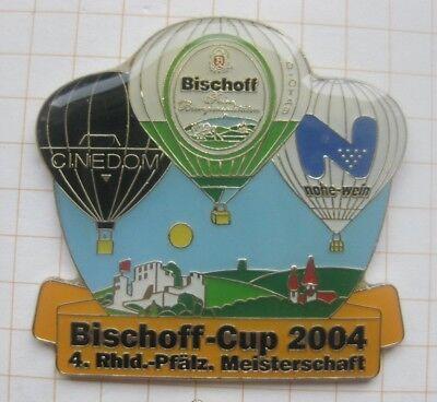 BISCHOFF CUP 2004 /  PRIVATBRAUEREI / BRÜHL  .........Bier-Ballon-Pin (172d)