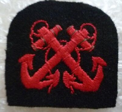 Patch No 2 Uniform Chief Petty Officer Sleeve Patch Cloth Badge Embroidery Used