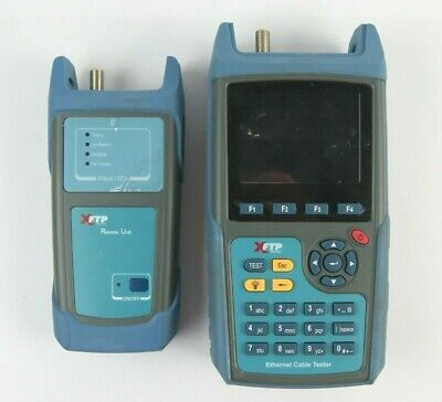 Trilithic Xftp Wild-cat Ethernet Cable Tester 90151 With Remote Unit No Battery