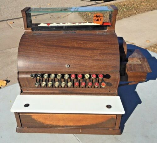 Antique Vtg NCR National Cash Register 1920