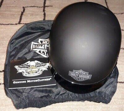 Harley Davidson STOCK II HALF HELMET Black Matte 98215-12VM XL NEW
