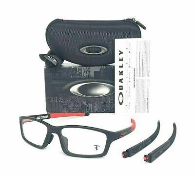 Oakley A Crosslink Pitch FERRARI  OX8041-0956 Satin Black  56mm Eye