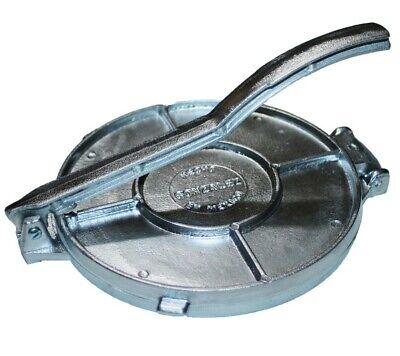 Tortilla Press Maker, Cast Aluminum Tortilladora, 8