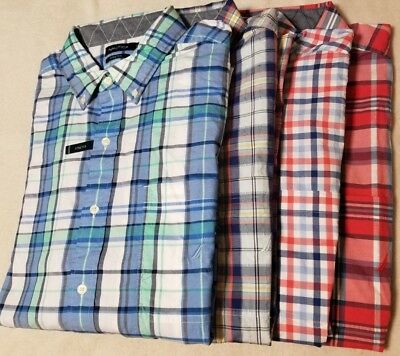 $75 NEW NWT NAUTICA MEN'S BIG & TALL BUTTON UP FRONT SHIRT SZ SIZE 2X 3X 4X (Nautica L/s Shirt)
