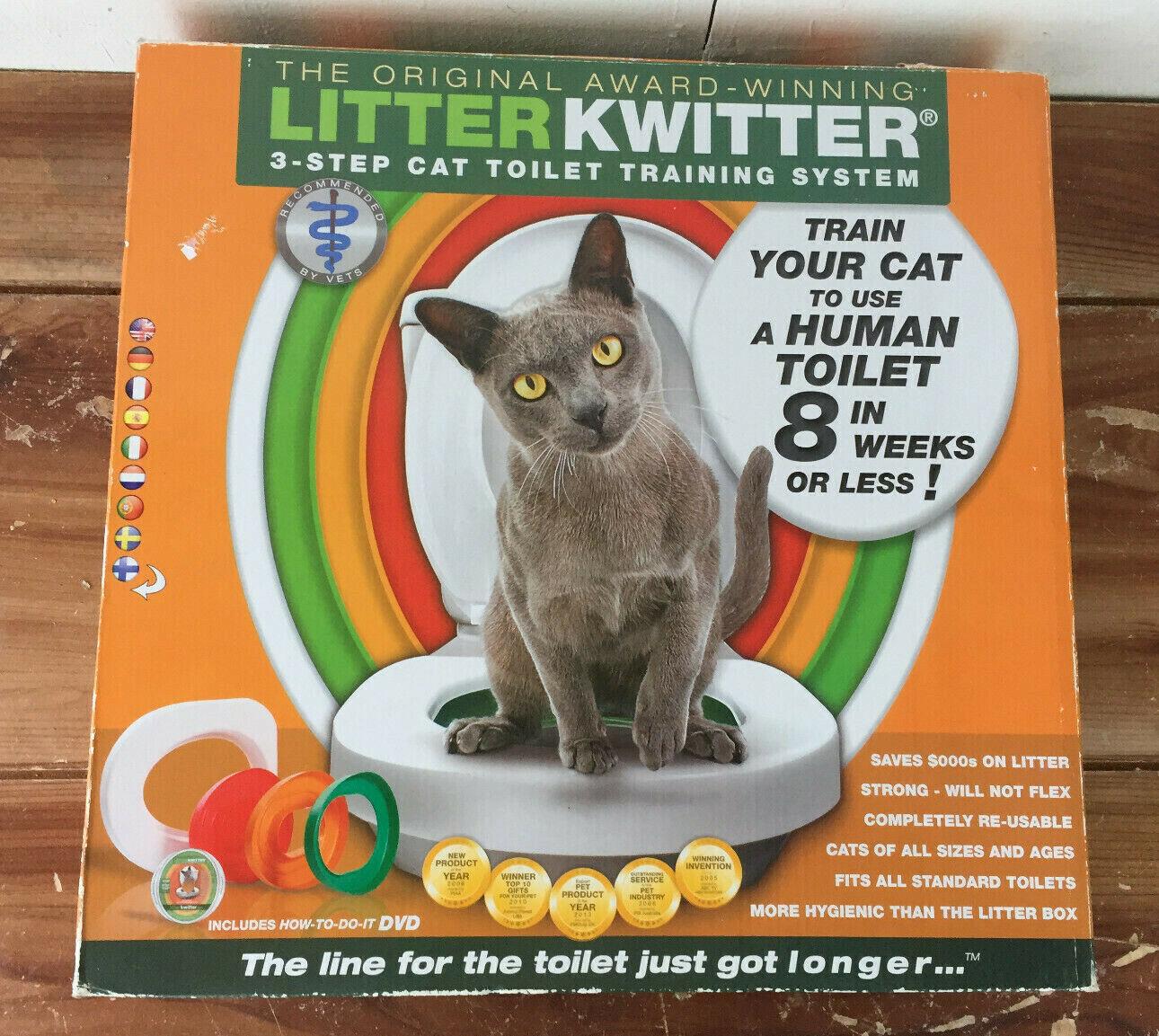 Litter Kwitter Cat Toilet Training System - ...