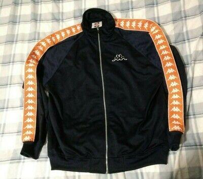 VTG Kappa track jacket Navy blue orange men L