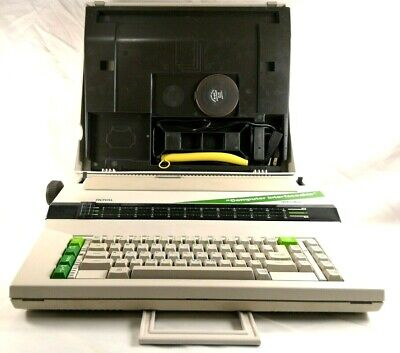 Vintage Royal Electric Typewriter Alpha 610 With Carrying Case Tested Working