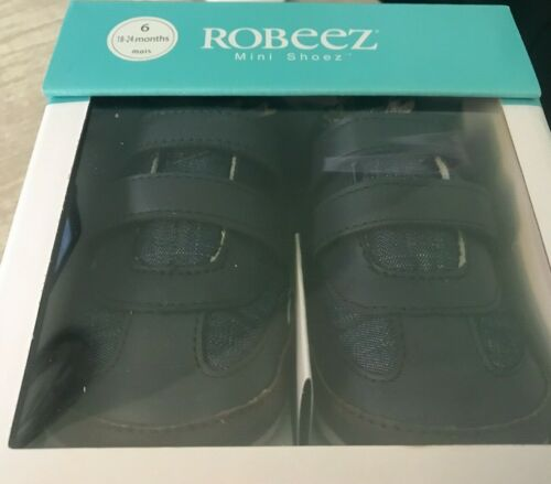 Robeez Mini Shoes toddlers 18-24 months Kenton Casual navy