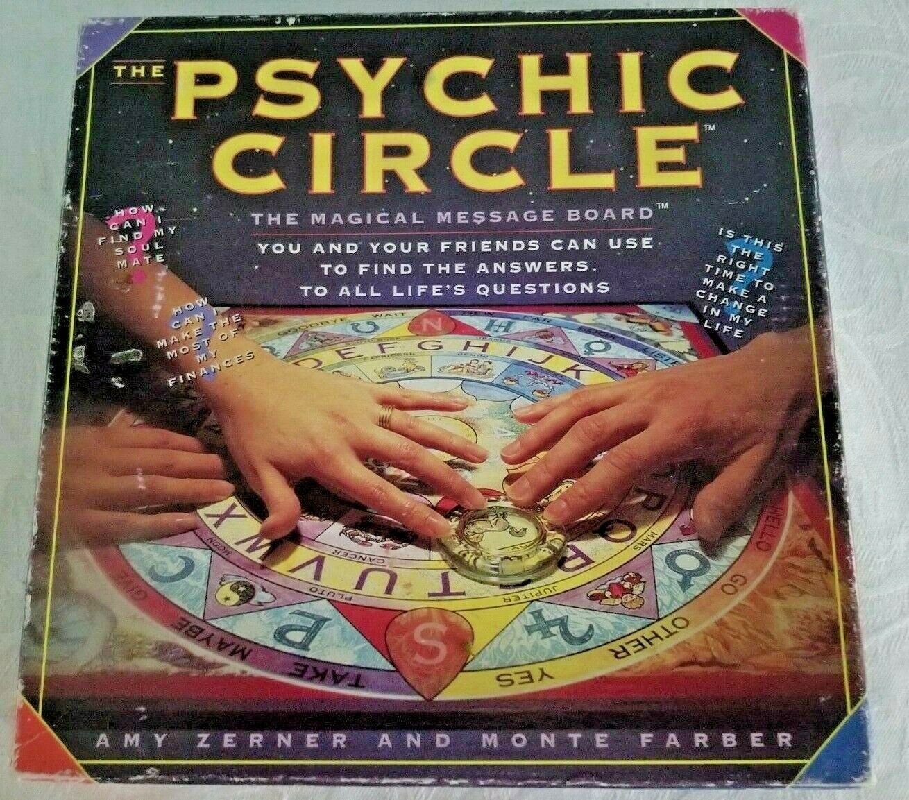 The Psychic Circle The Magical Message Board By Amy Zerner And Monte Farber CIB - $12.95