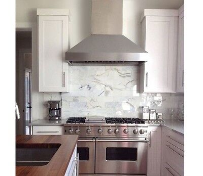 """PROFESSIONAL RANGE HOOD 54"""" WITH MECHANICAL SWITCHES. (WATCH VIDEO)"""