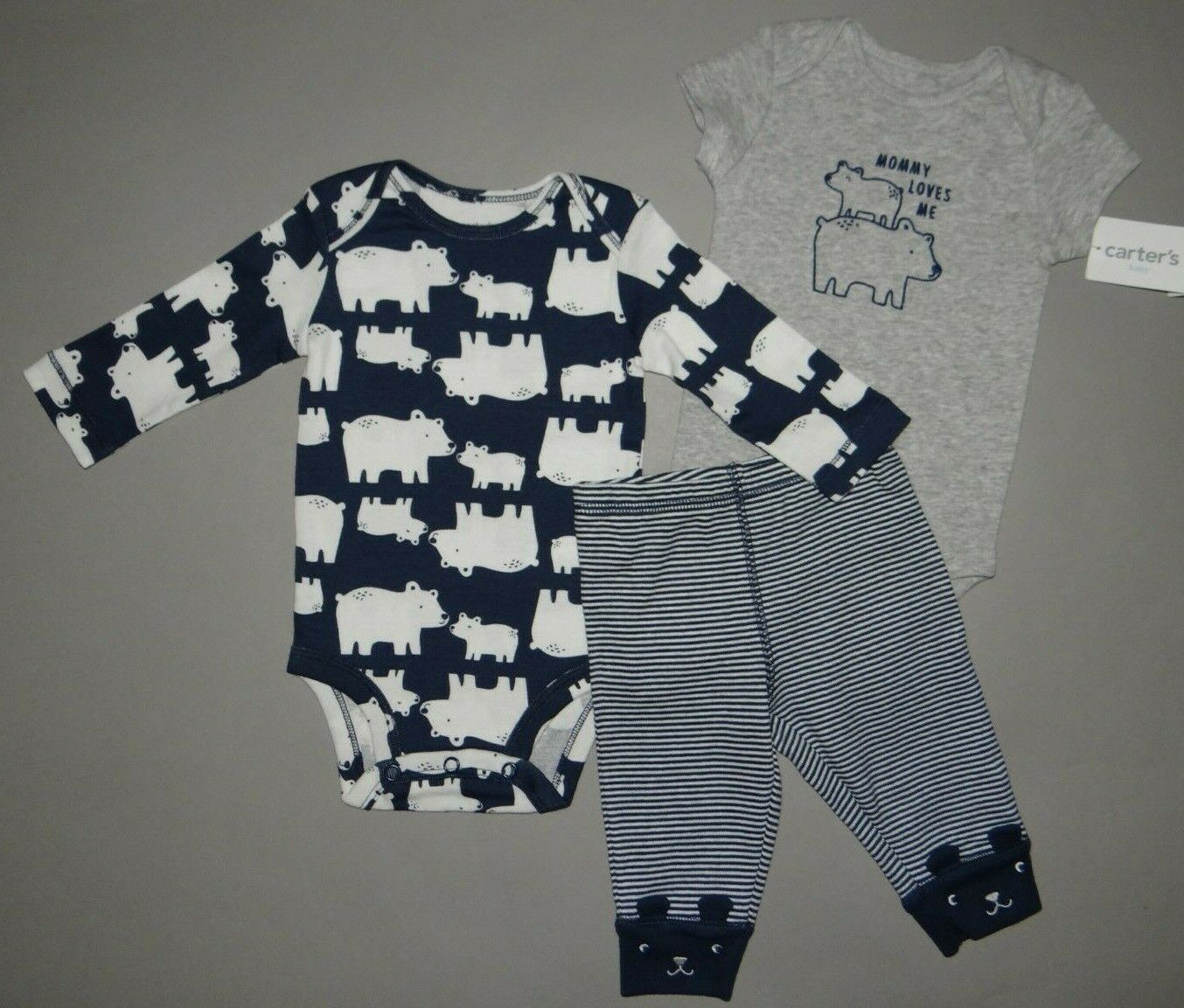 Baby boy clothes, 18 months, Carter's 3 piece set/SEE DETAIL