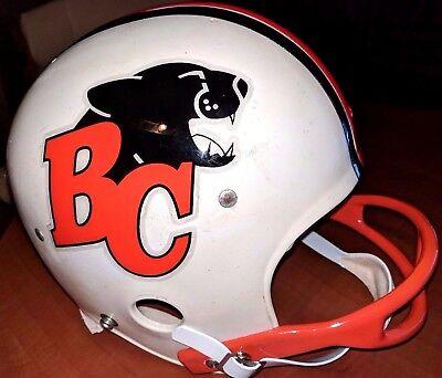88890145b39 British Columbia Lions CFL FOOTBALL Vintage 1980's Wilson Football HELMET(7)