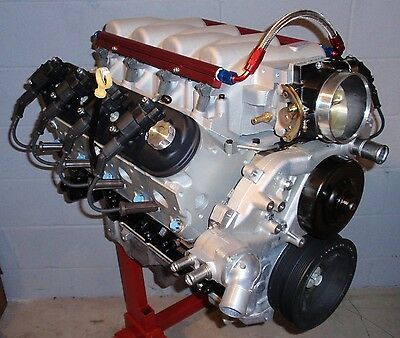 CHEVY 6.0L 366 LQ4 LS2 LS6 /404 HORSE COMPLETE FI CRATE ENGINE/PRO-BUILT/370 NEW