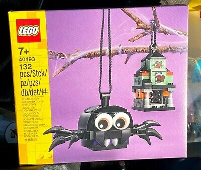 Lego 40493 Spider & Haunted House Pack Sealed NEW