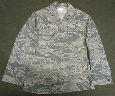 NEW GENUINE US AIR FORCE/USAF ABU/TIGER STRIPE COMBAT JACKET/SHIRT. 34 LONG.