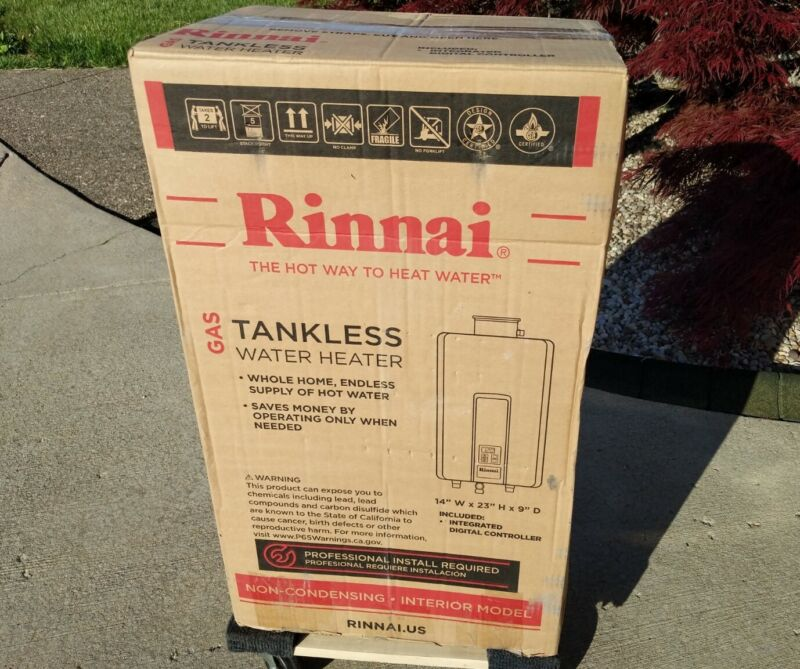 Rinnai V65iN Natural Gas Indoor  Tankless Water Heater