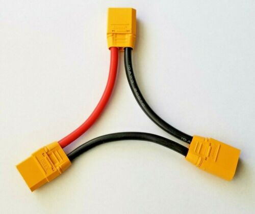 AMASS XT90 Series Battery Connector DOUBLE YOUR POWER 10AWG