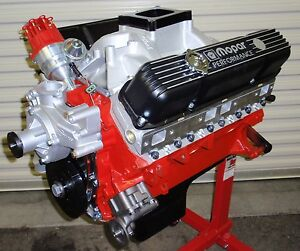 MOPAR DODGE 512 - 695 HORSE COMPLETE CRATE ENGINE/PRO-BUILT/ 426 440 528 NEW BBM