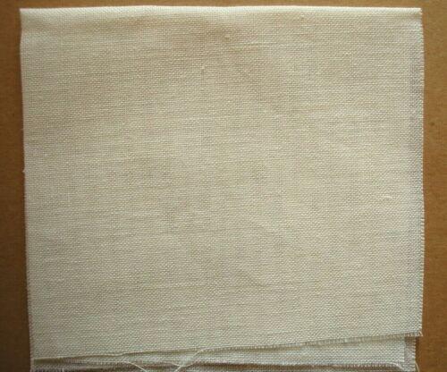 "27 Count Bleached DANISH LINEN 12 x 8"" Cross Stitch Fabric"