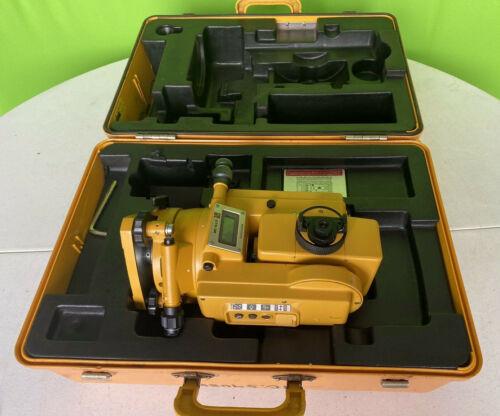 Topcon GTS-3B Theodolite Total Station Surveying Equipment w/ Case