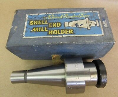 National Standard Tape Shell End Mill Holder 30-1 14 Made In Poland