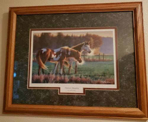 Pasture Buddies framed print