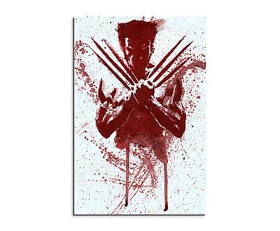 plash Art Gemälde Kunstbild The_Wolverine (Wolverine Dekorationen)