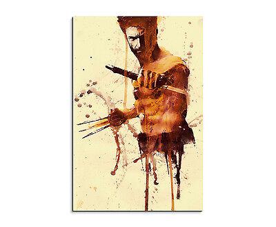 plash Art Gemälde Kunstbild The_Wolverine_X_Men (Wolverine Dekorationen)