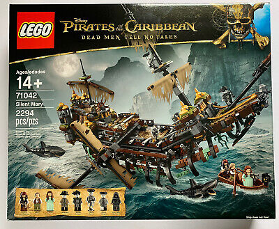 Retired LEGO Disney Pirates of the Caribbean Silent Mary 71042 New Sealed Box