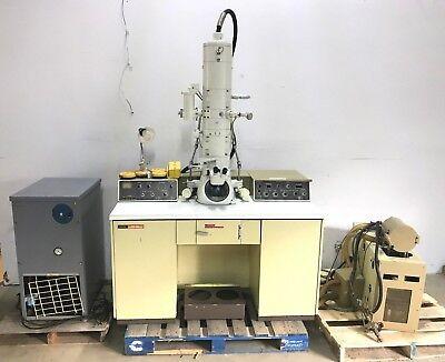 Jeol Jem-100s Electron Microscope System Power Unit Control Assembly Vintage