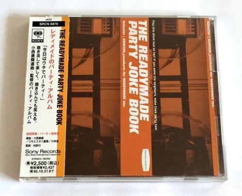 THE READYMADE PARTY JOKE BOOK V.A. JAPAN PROMO CD w/OBI Dave Brubeck Paul Winter