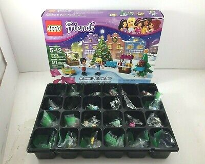 Lego 41016 Friends Advent Calendar Retired 100% Complete Christmas Gift