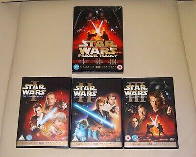 STAR WARS The Prequel TRILOGY DVD Box Set (Episode I, II & III)