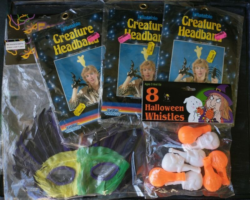 Lot ofVintage Halloween Accessories, 70s-90s