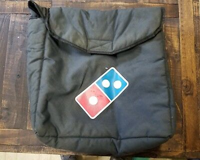 Dominos Pizza Insulated Thermal Large Delivery Bag Hot