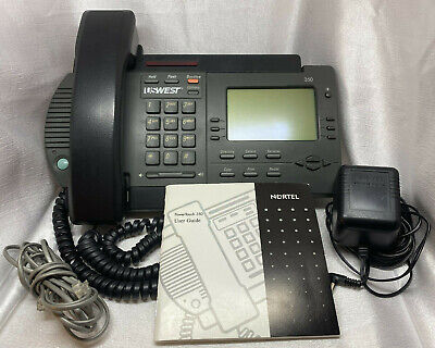 Nortel Power Touch 350 Phone Power Cord User Guide Northern Telecom