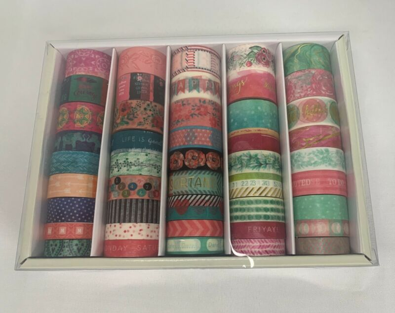 Recollections crafting, washi tape, for planners, scrapbooking, box of 45 rolls