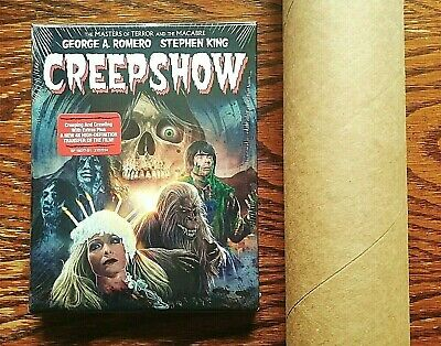 Creepshow Blu-ray NEW Sealed Collectors Edition Limited LITHOGRAPH POSTER Scream](Halloween Collector's Box Set)