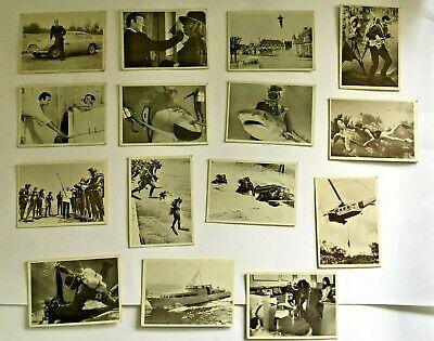 JAMES BOND COLLECTOR CARDS ~ 1966 THUNDERBALL ~ Gildrose Productions (15)