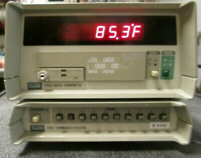 Multi-channel Thermocouple Thermometer 10 Channel. Jkt Type Fluke 2190 Works