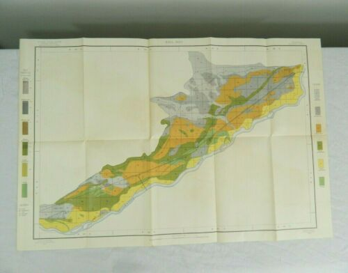1902 Alkali Soil Map Montana Billing Sheet Bureau Of Soils Dept. Of Agriculture